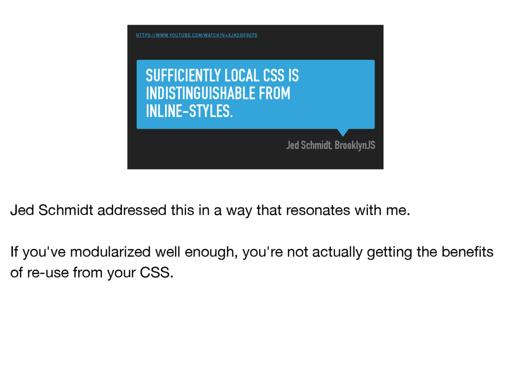 SUFFICIENTLY LOCAL CSS IS INDISTINGUISHABLE FRO...