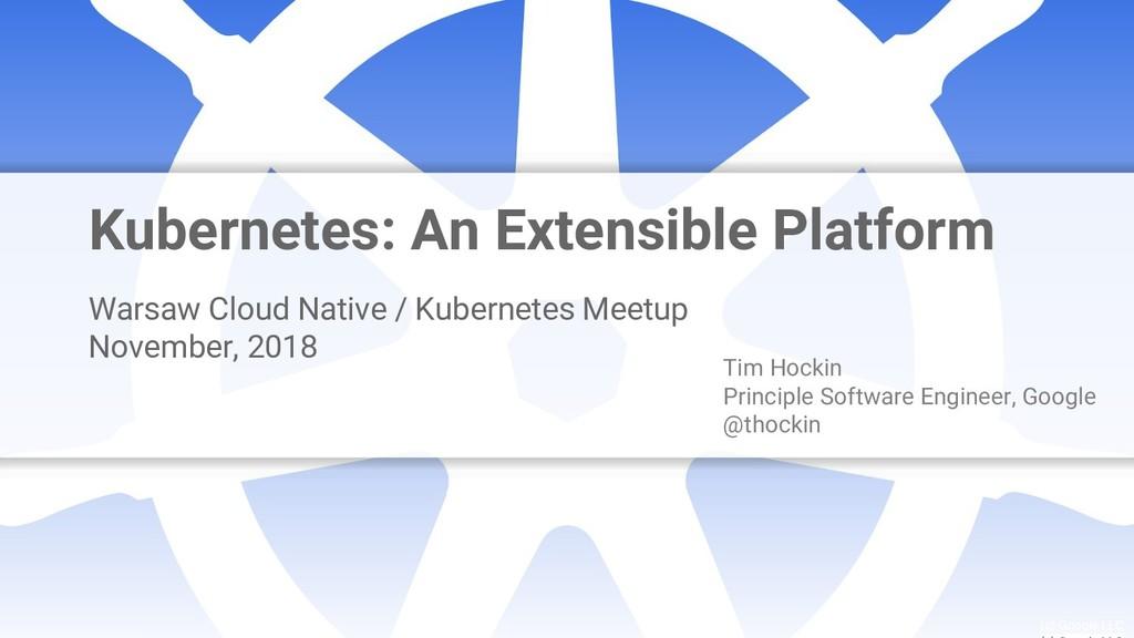 Google Cloud Platform logo (c) Google LLC Kuber...