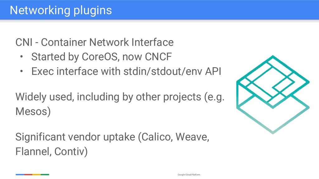 Google Cloud Platform CNI - Container Network I...