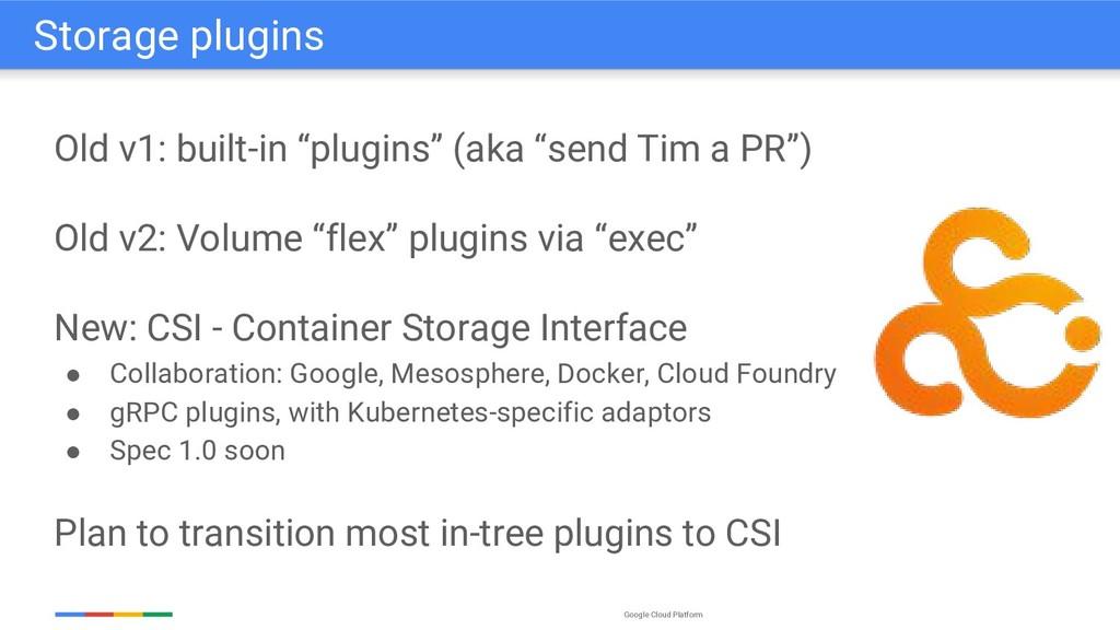 """Google Cloud Platform Old v1: built-in """"plugins..."""