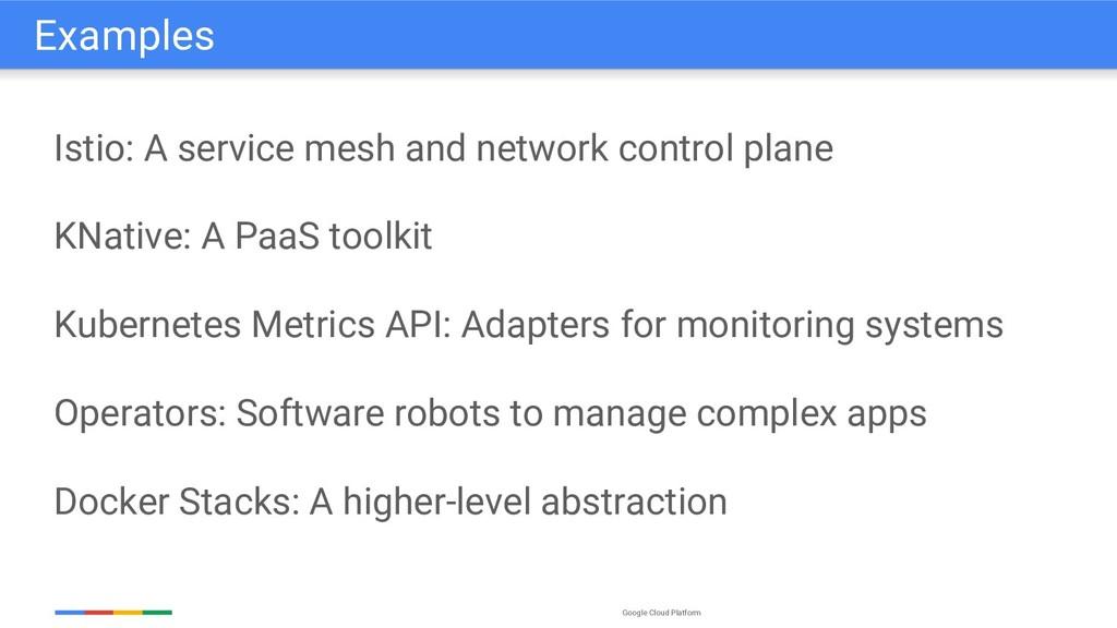 Google Cloud Platform Istio: A service mesh and...