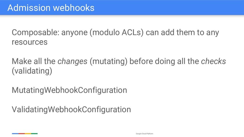 Google Cloud Platform Composable: anyone (modul...