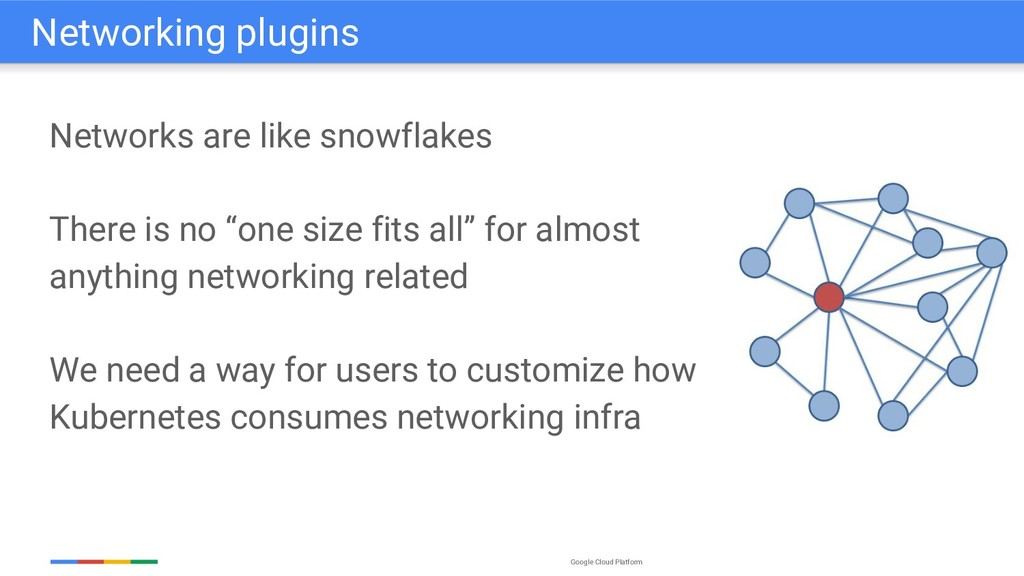 Google Cloud Platform Networks are like snowfla...