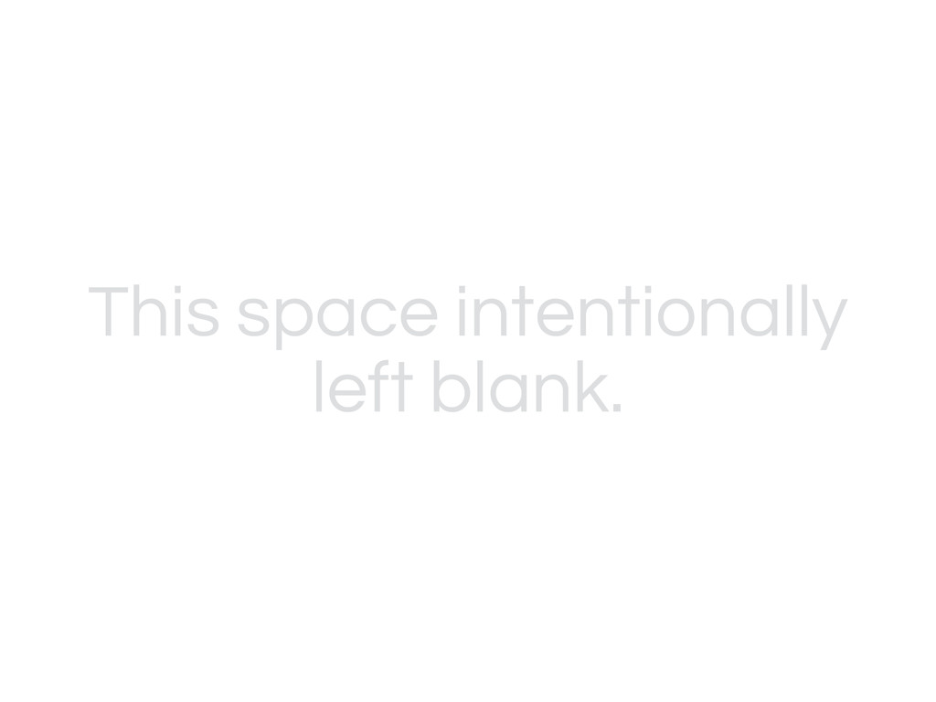 This space intentionally left blank.