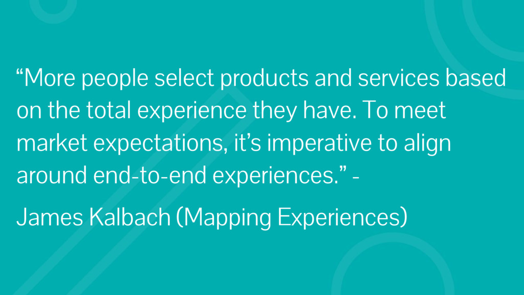 """""""More people select products and services based..."""