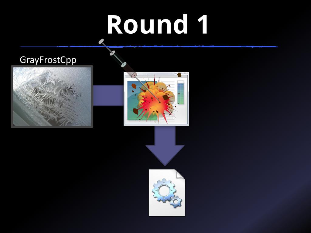 Round 1 GrayFrostCpp