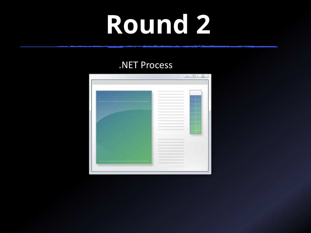 Round 2 .NET Process