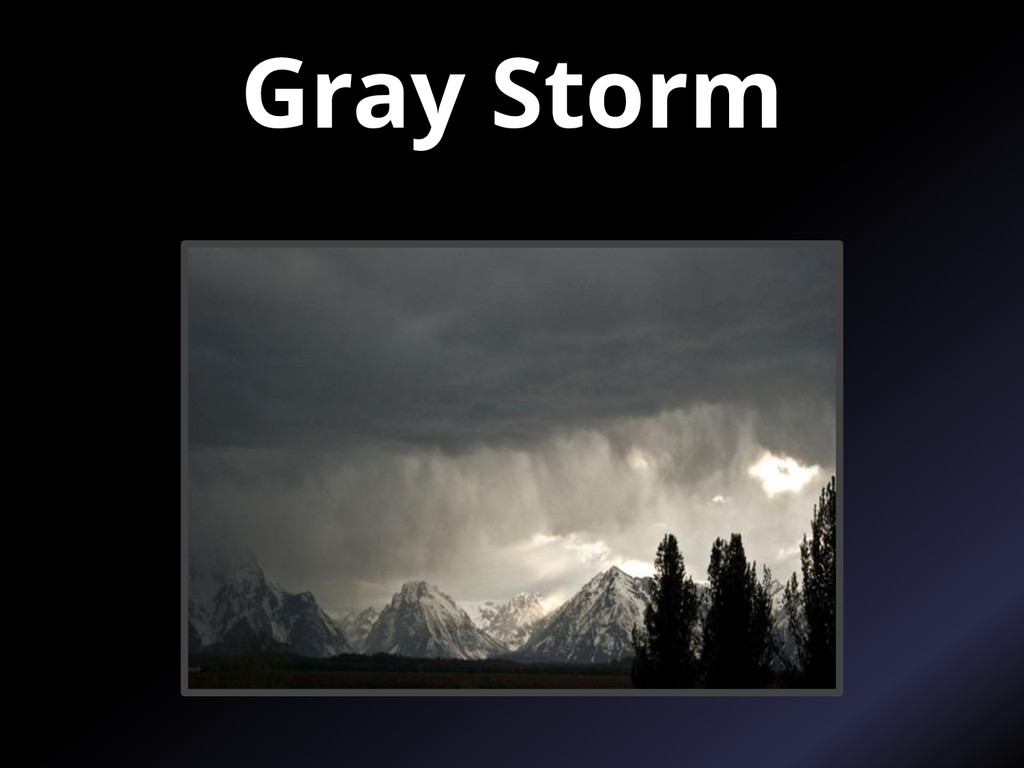 Gray Storm