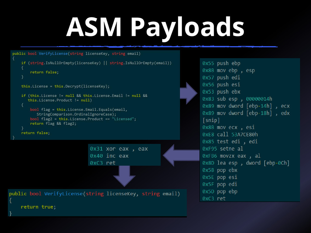 ASM Payloads