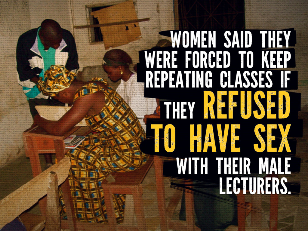 WOMEN SAID THEY WERE FORCED TO KEEP REPEATING C...