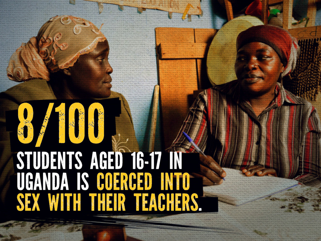 STUDENTS AGED 16-17 IN UGANDA IS COERCED INTO S...