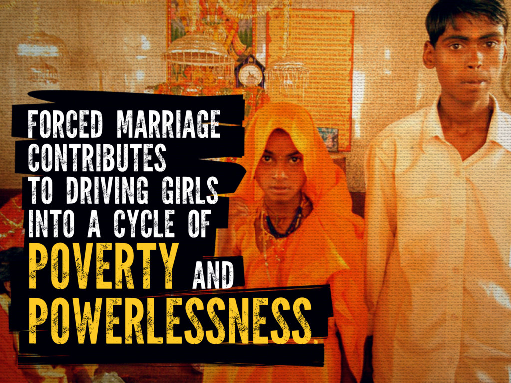 FORCED MARRIAGE CONTRIBUTES TO DRIVING GIRLS IN...