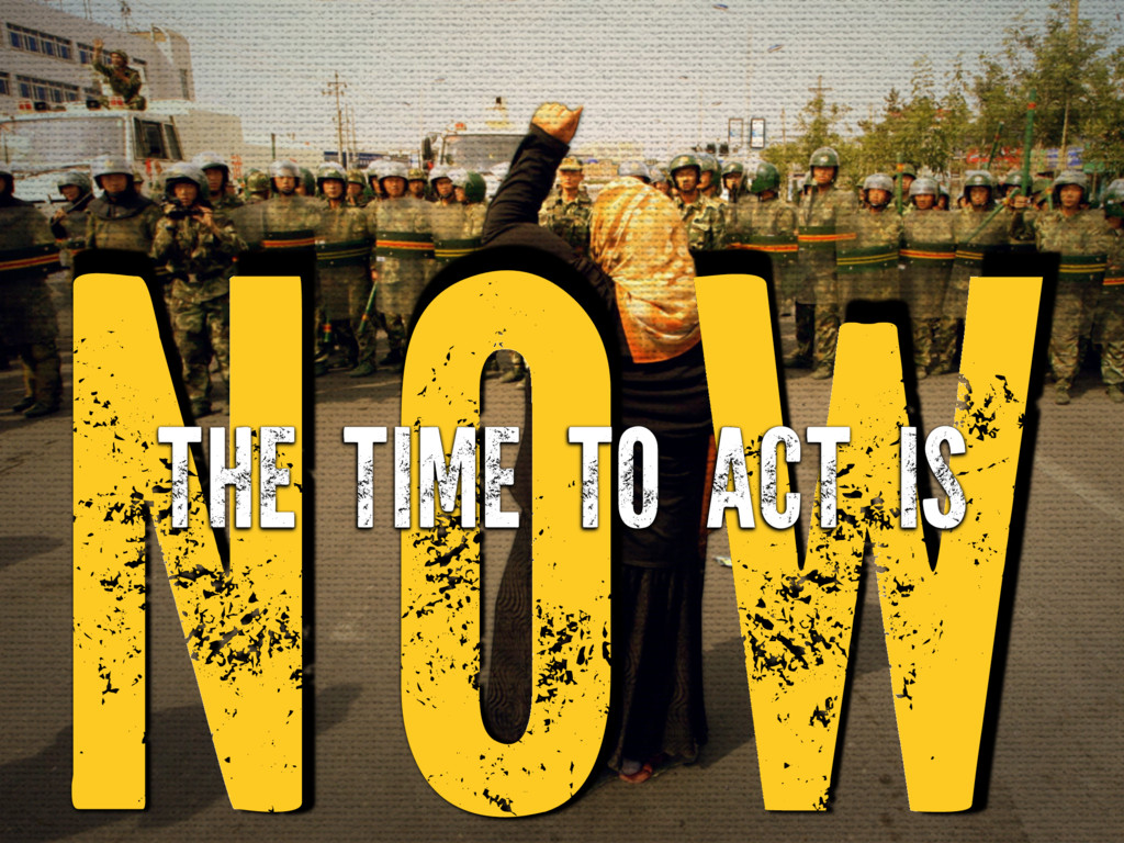 NOW THE TIME TO ACT IS