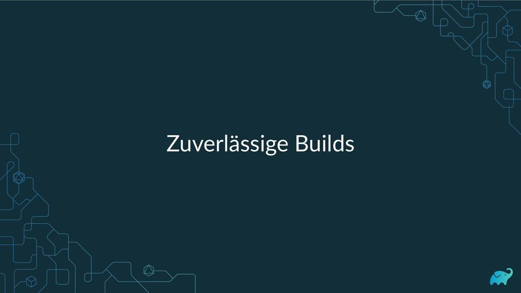 Zuverlässige Builds