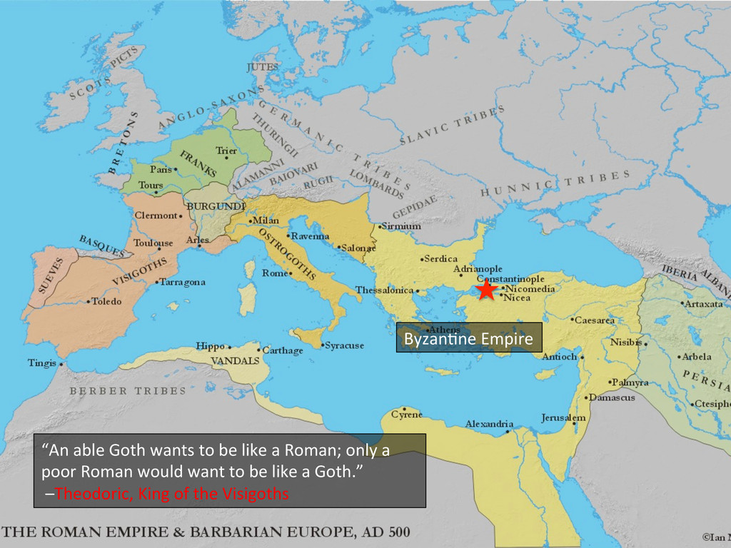 "Byzan_ne Empire  ""An able Goth w..."