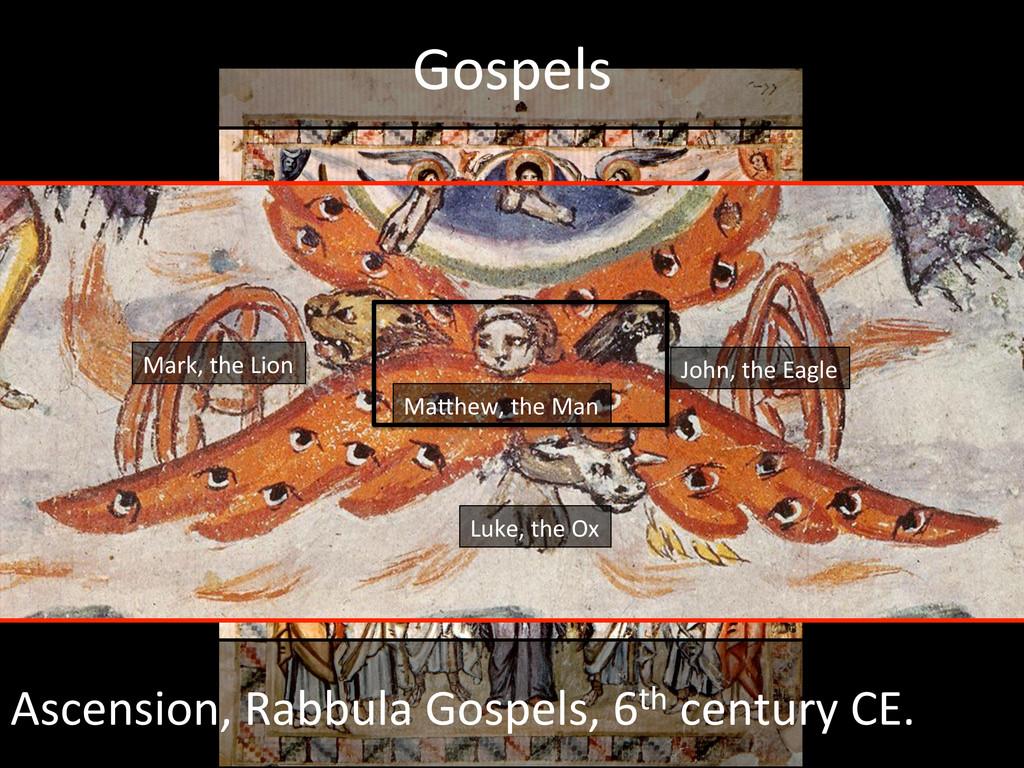 Gospels  Ascension, Rabbula Gospels,...