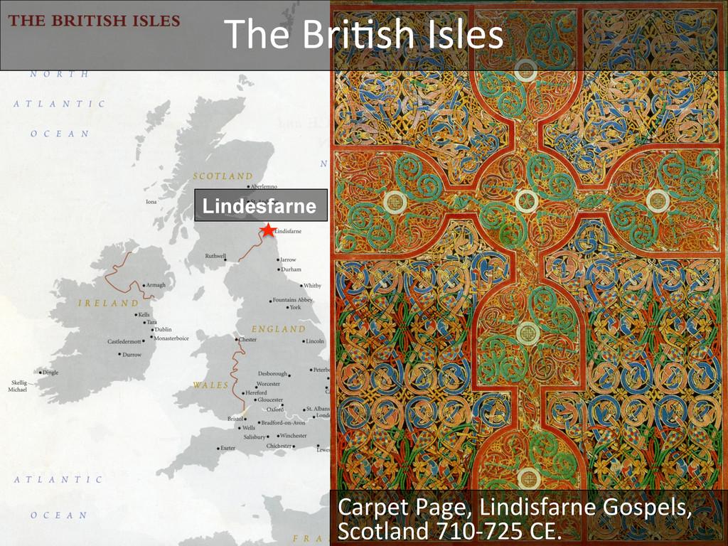 Lindesfarne The Bri_sh Isles  Carpet...
