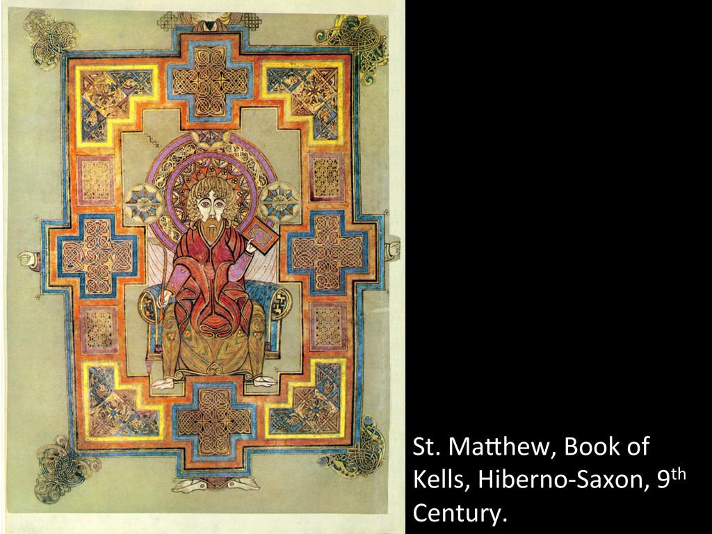 St. MaWhew, Book of  Kells, Hibe...