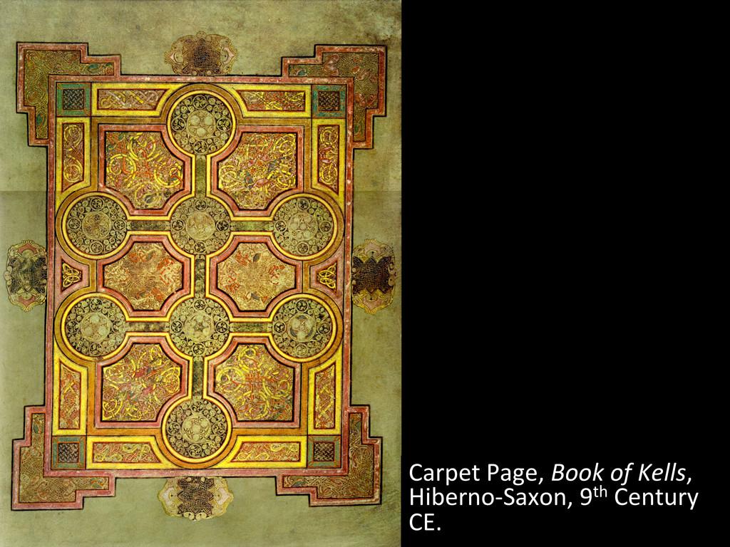 Carpet Page, Book of Kells,  Hib...