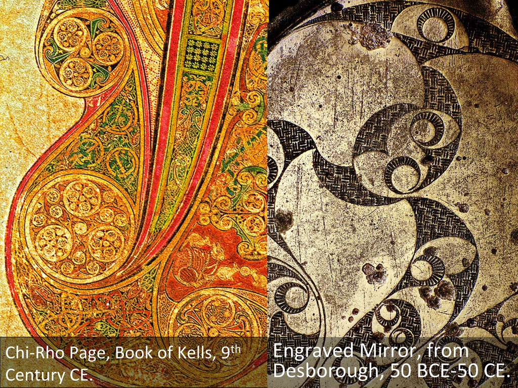 Chi-‐Rho Page, Book of Kells, 9...