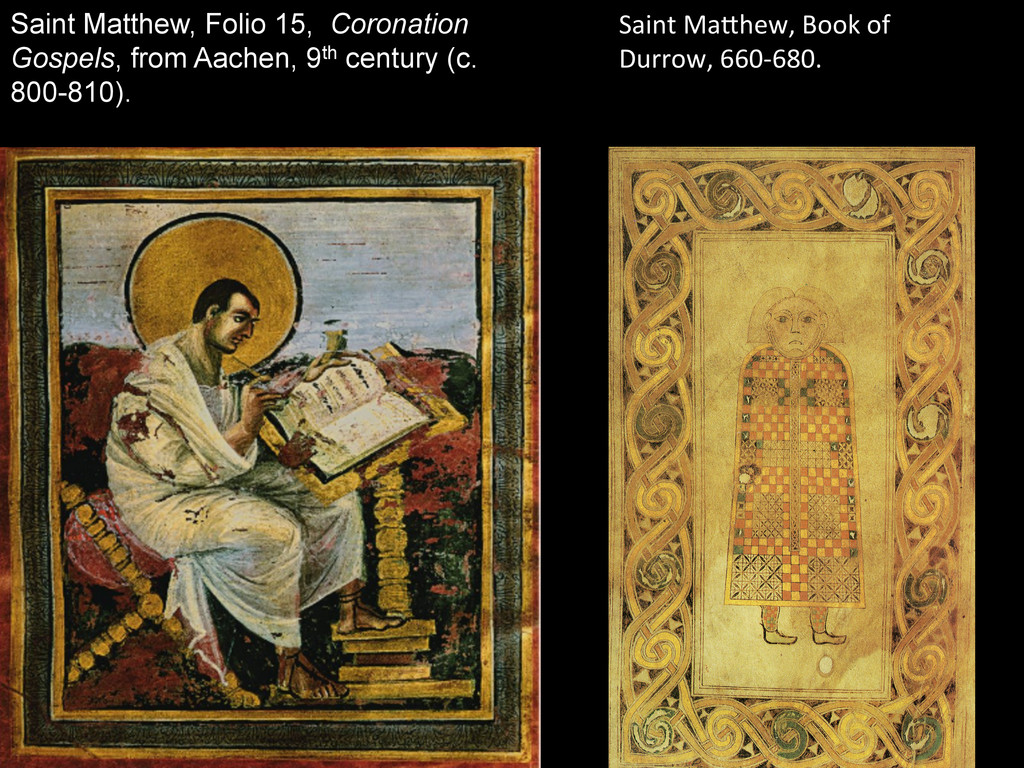 Saint Matthew, Folio 15, Coronation Gospels, fr...