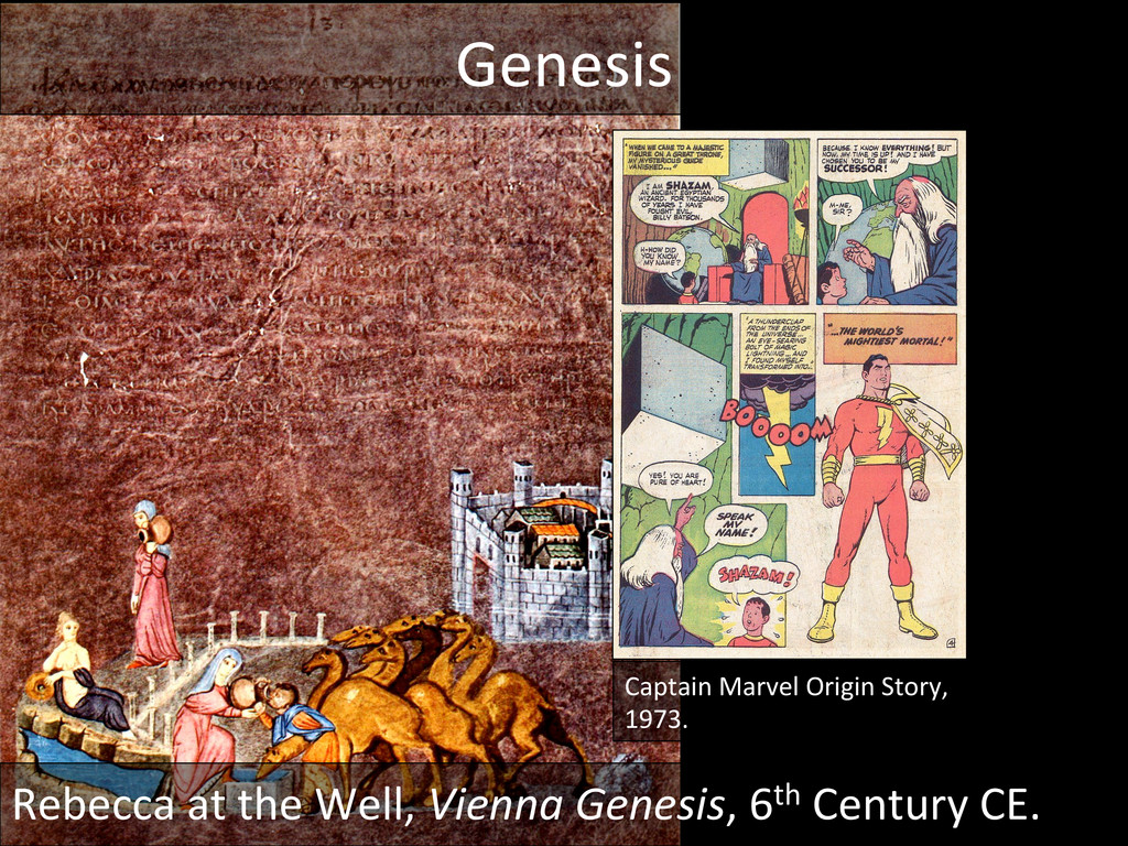 Genesis  Captain Marvel Origin Stor...