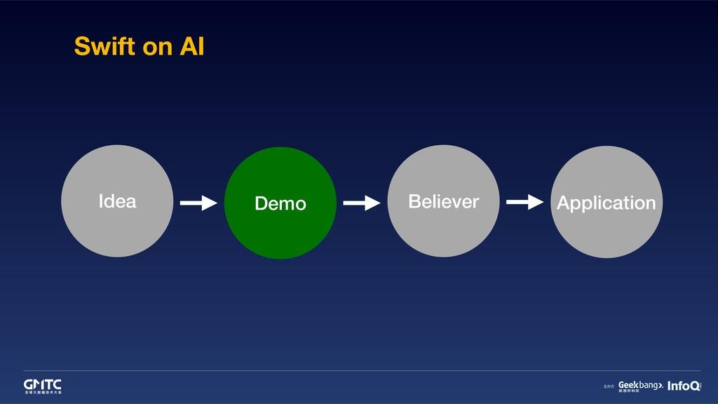 Swift on AI Idea Demo Believer Application