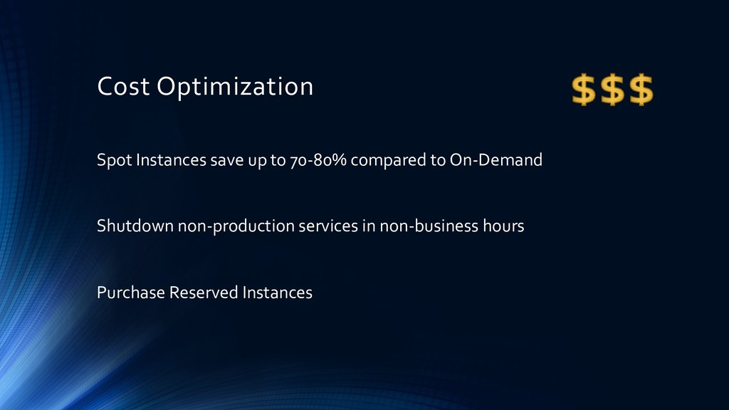 Cost Optimization Spot Instances save up to 70-...