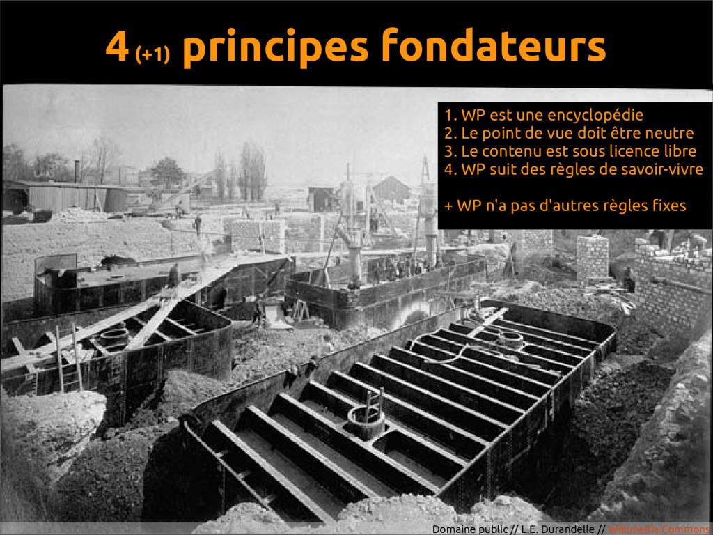 4 (+1) principes fondateurs Domaine public // L...