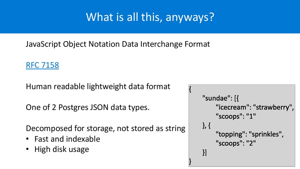What is all this, anyways? JavaScript Object No...