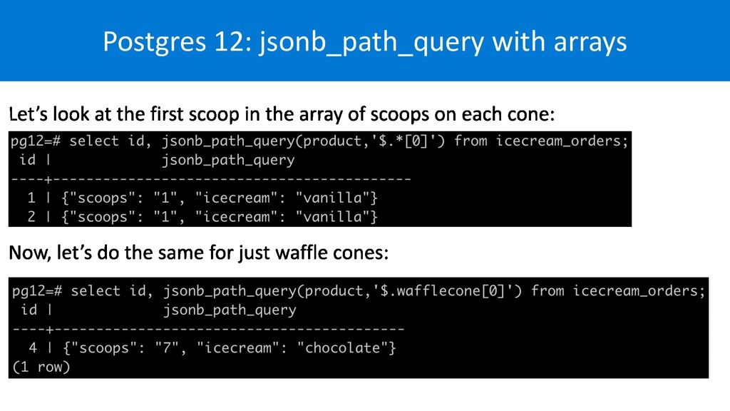 Postgres 12: jsonb_path_query with arrays