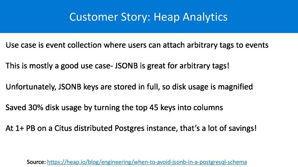 Customer Story: Heap Analytics https://heap.io/...