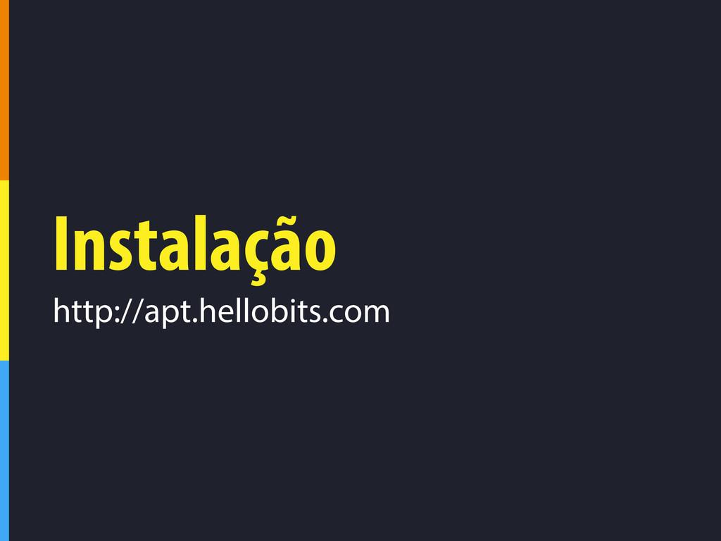Instalação http://apt.hellobits.com