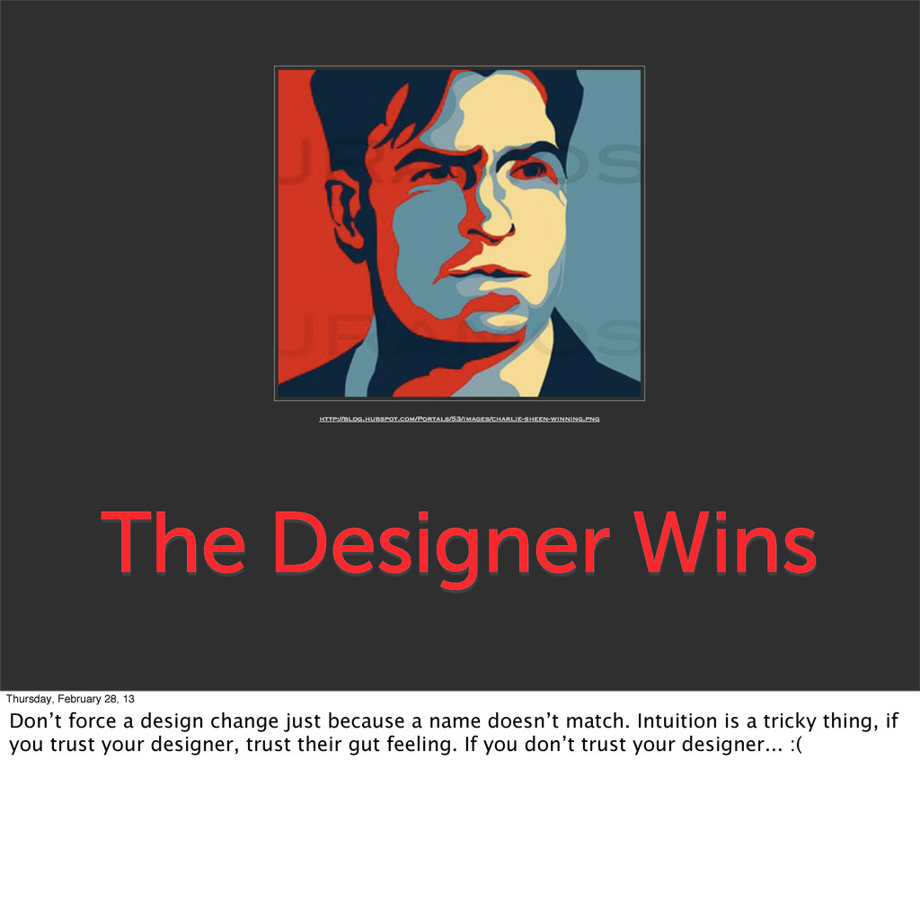 The Designer Wins http://blog.hubspot.com/Porta...