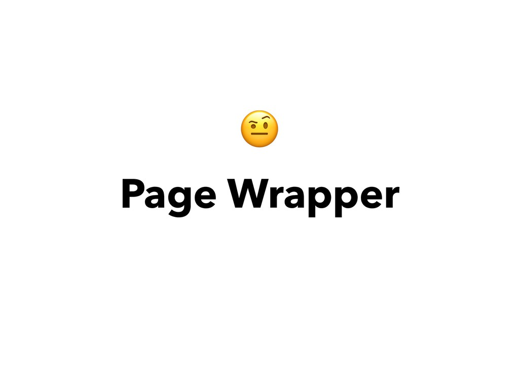 Page Wrapper