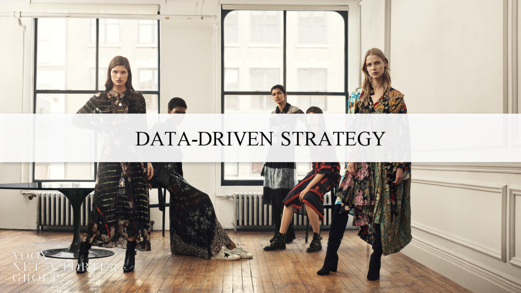 DATA-DRIVEN STRATEGY