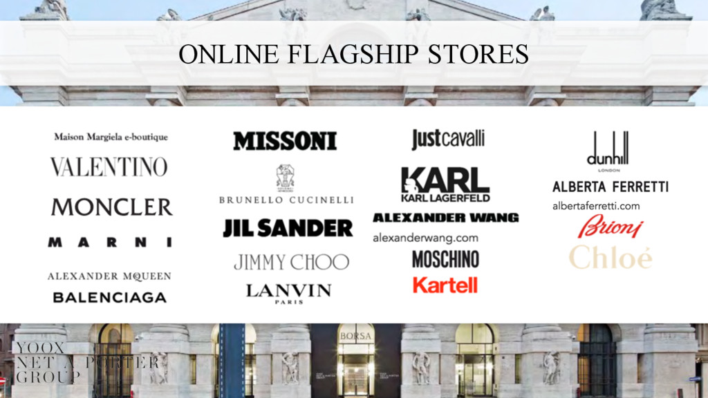 ONLINE FLAGSHIP STORES