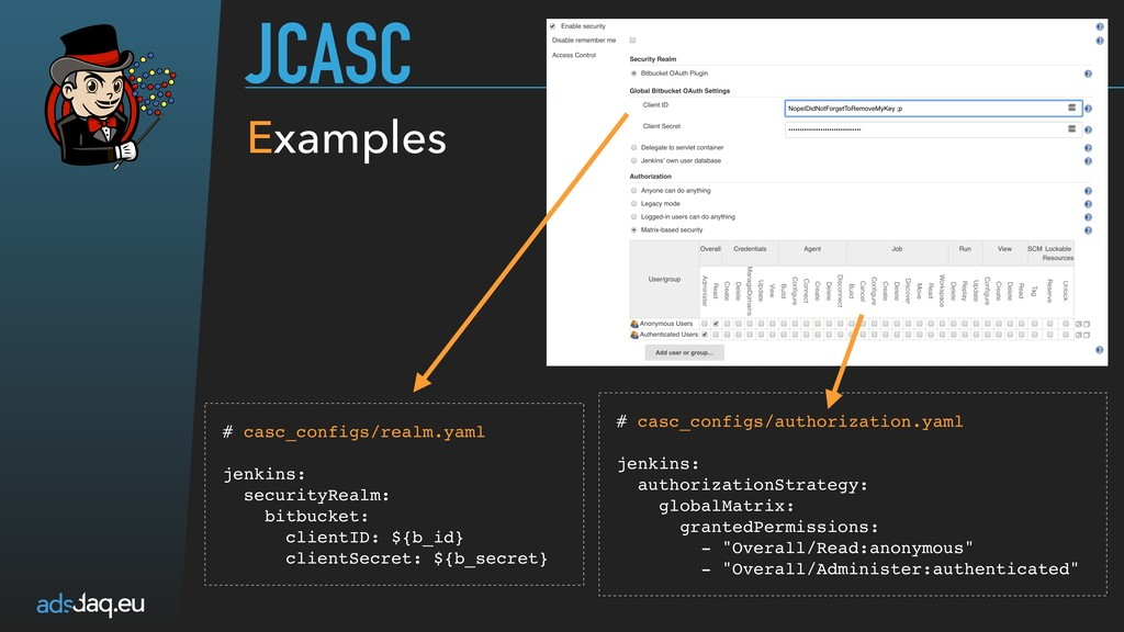 JCASC # casc_configs/realm.yaml  jenkins: se...