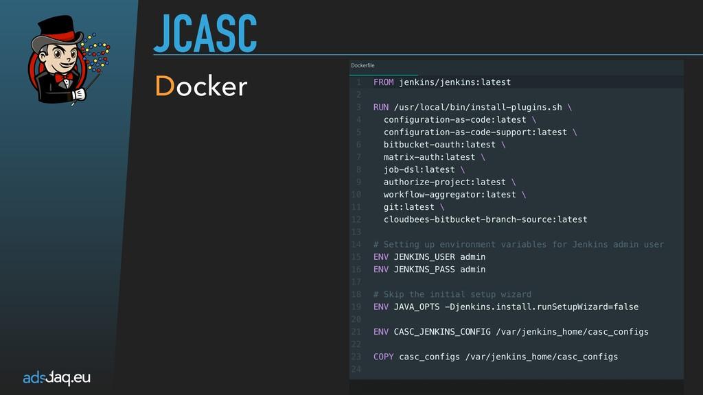 JCASC Docker