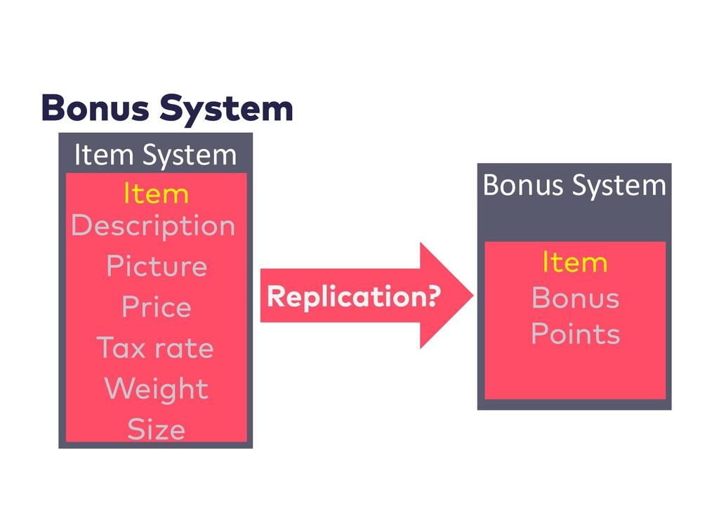 Item System Bonus System
