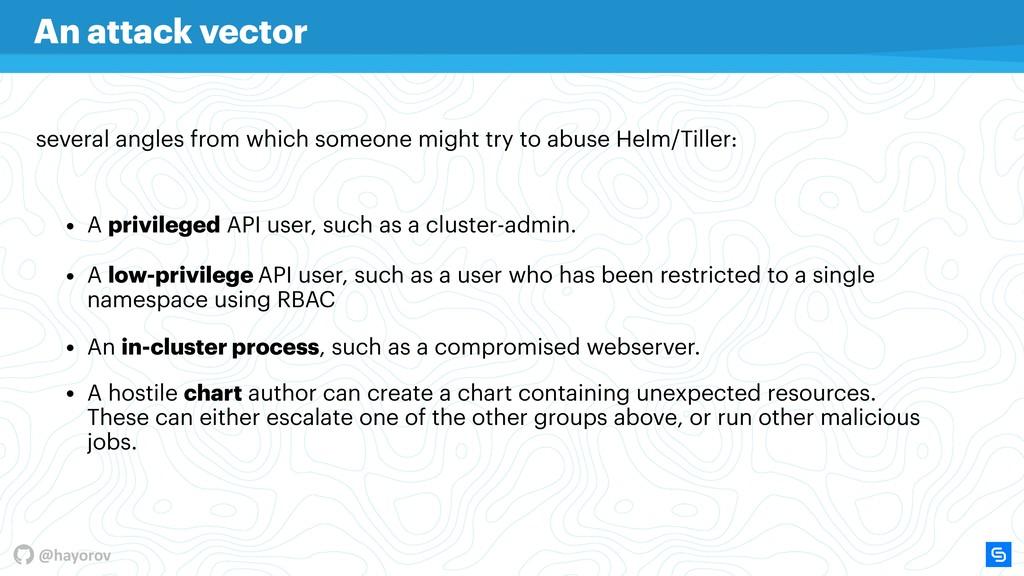 @hayorov • A hostile chart author can create a ...