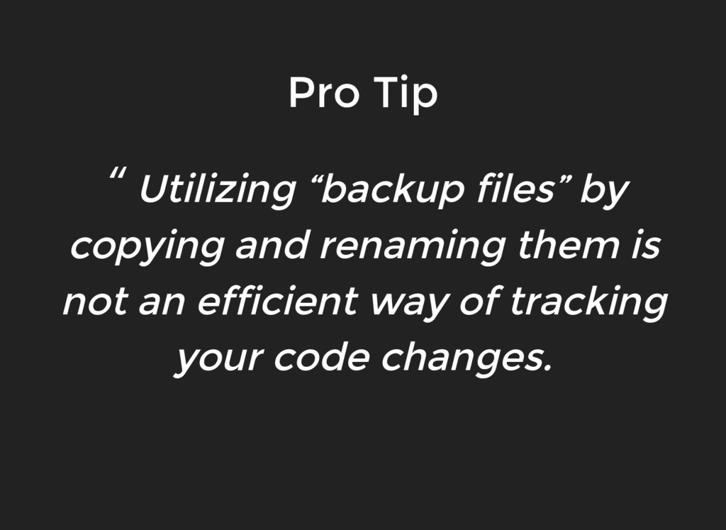 """"""" Utilizing """"backup files"""" by copying and renam..."""