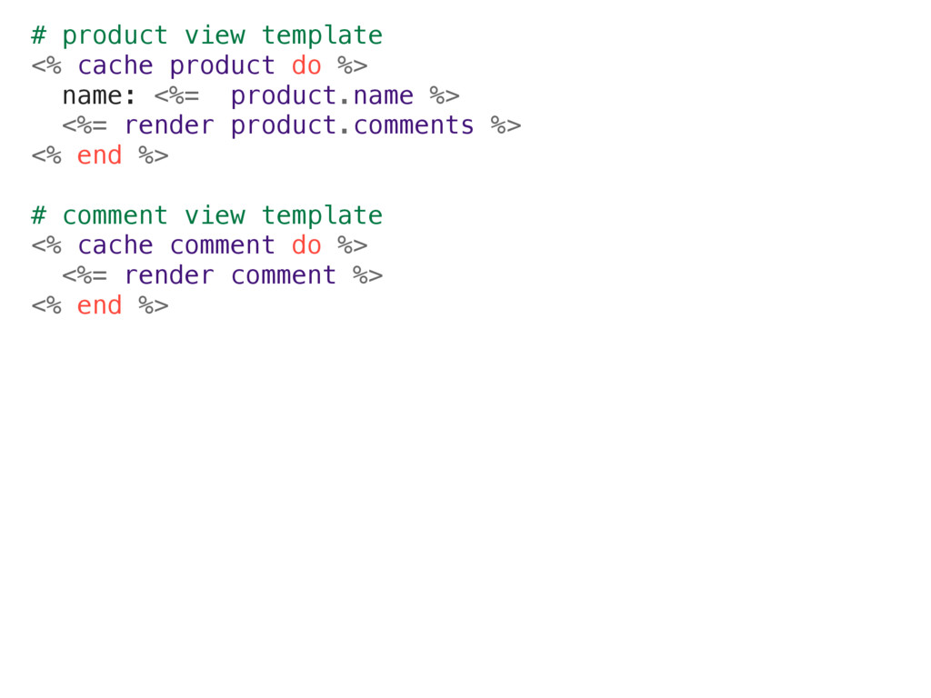# product view template <% cache product do %> ...