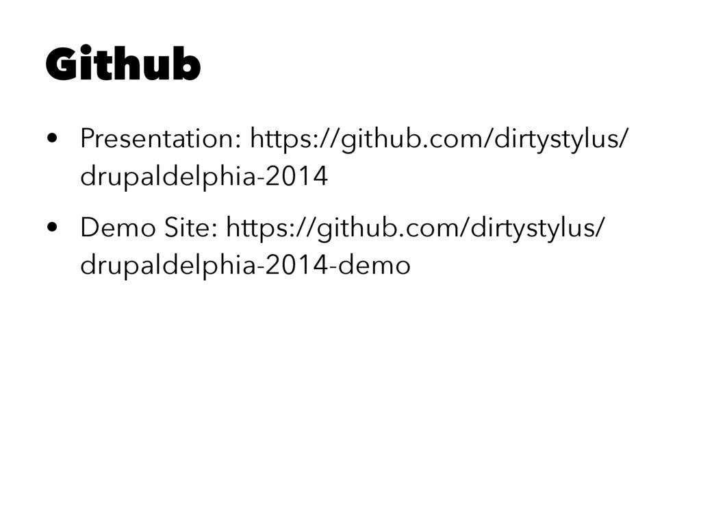 Github • Presentation: https://github.com/dirty...