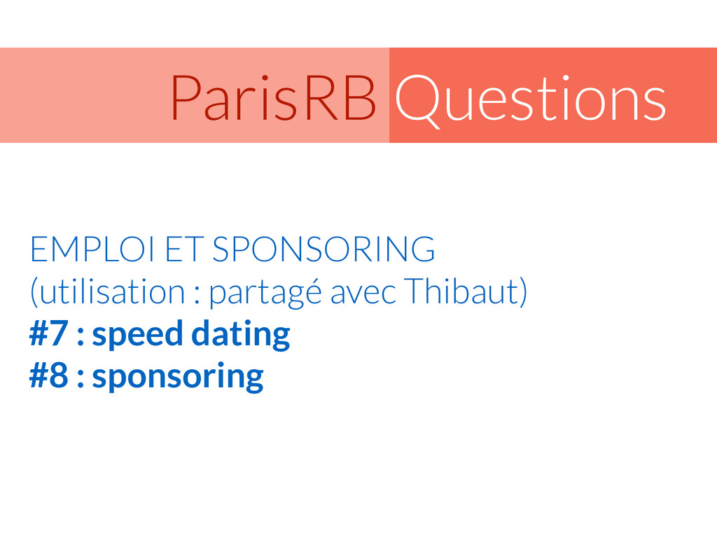 Questions ParisRB EMPLOI ET SPONSORING (utilis...