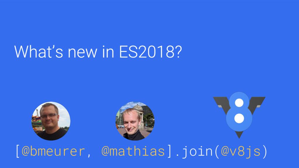 [@bmeurer, @mathias].join(@v8js) [@bmeurer, @ma...