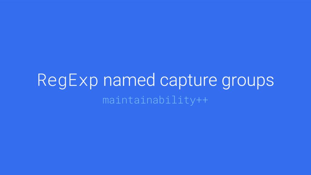 [@bmeurer, @mathias].join(@v8js) RegExp maintai...
