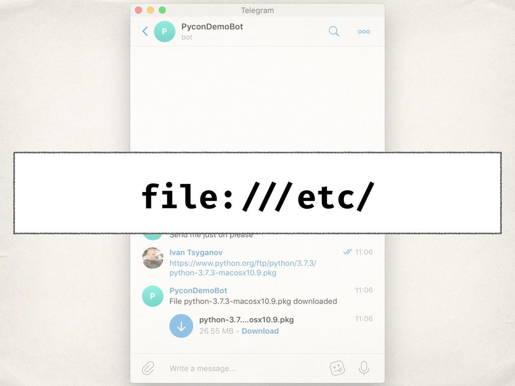 file: ///etc/