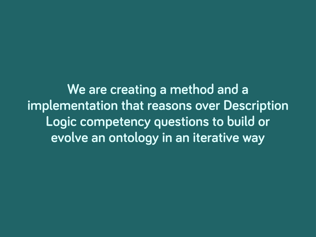 We are creatin a method and a implementation th...