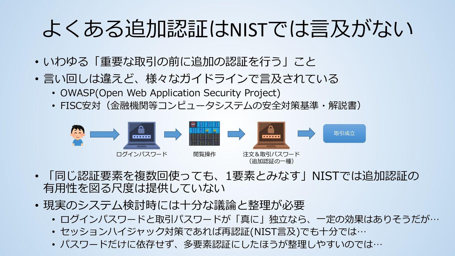 """経路外認証は使えるが""""RESTRICTED"""" • ドラフト改訂の当初は、公衆交換電話網(PST..."""